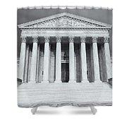 Us Supreme Court Building Viii Shower Curtain