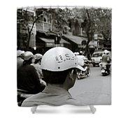 Usa And Hanoi Shower Curtain