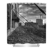 Usa's Most Dangerous City Shower Curtain by Jane Linders