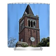 Usc's Clock Tower Shower Curtain