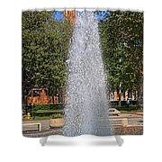 Usc's Fountain Shower Curtain