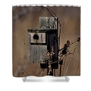 Used House - Free Rent Shower Curtain