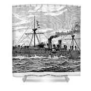 Uss Baltimore, 1890 Shower Curtain