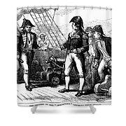 Uss Chesapeake, 1807 Shower Curtain