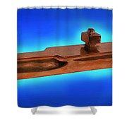 Uss Enterprise Cvan 65 Bronze Shower Curtain