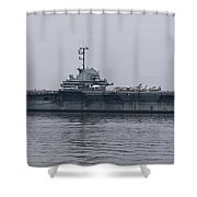 Uss Yorktown Shower Curtain