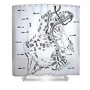 Ussua Dance - Sao Tome And Principe Shower Curtain