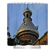 Ut Minaret Shower Curtain