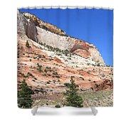 Utah 18 Shower Curtain