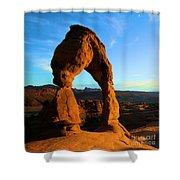Utah Landmark Shower Curtain