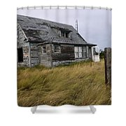 Vacant House Shower Curtain