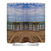 Vacation Reflection Shower Curtain