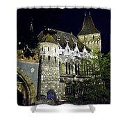 Vajdahunyad Castle - Budapest Shower Curtain