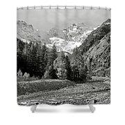 Val Di Cogne In The Italian Alps Shower Curtain
