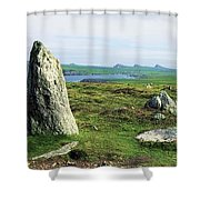 Vale Of Clara Nature Reserve, Co Shower Curtain