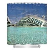 Valencia Spain Shower Curtain