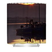 Valentia Island, County Kerry, Ireland Shower Curtain