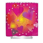 Valentine 2012 Shower Curtain