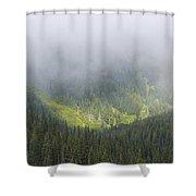 Valley Light Shower Curtain