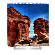 Valley Of Fire Monuments Shower Curtain