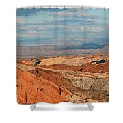 Valley Of Fire Nevada Shower Curtain
