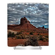 Valley Of The Gods II Shower Curtain