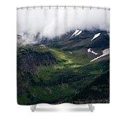 Valley Sun Spot Shower Curtain