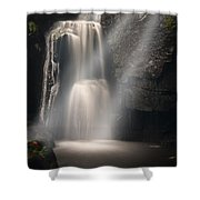 Valley Waterfall Lost Love Shower Curtain