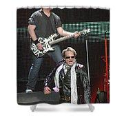 Van Halen-7233b Shower Curtain