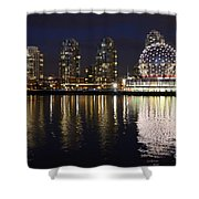 Vancouver British Columbia 2 Shower Curtain