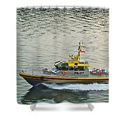 Vancouver Harbour Pilot Shower Curtain