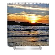 Vancouver Island Sunset Shower Curtain