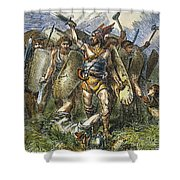 Vandal Invasion Of Rome Shower Curtain