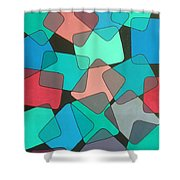 Variations 1 Shower Curtain