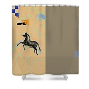 Variations Equine Shower Curtain