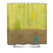 Variations Three Shower Curtain