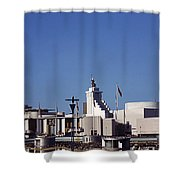 Various Pavilions Shower Curtain