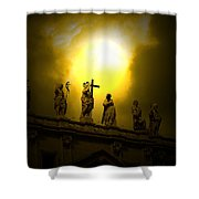 Vatican City Statues Vatican City Rome Italy Shower Curtain