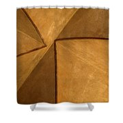 Vaulted Abstract II Shower Curtain
