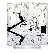 Vee  Shower Curtain