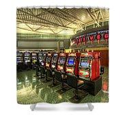 Vegas Airport 2.0 Shower Curtain