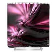 Velvet Angels Shower Curtain