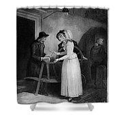 Vendramini: London, 1795 Shower Curtain