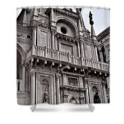 Venetian Architecture Iv Shower Curtain by Ellen Heaverlo