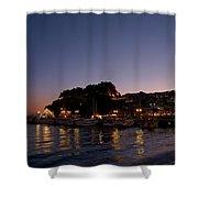 Venetian Castle Of Parga Shower Curtain