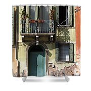 Venetian Doorway Shower Curtain