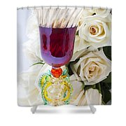 Venetian Glass Shower Curtain