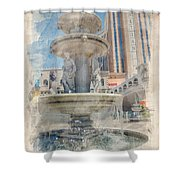 Venetian Shower Curtain