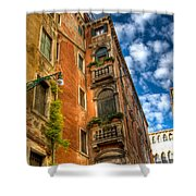Venice Apartment  Shower Curtain
