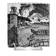 Venice: Arsenal, 1793 Shower Curtain